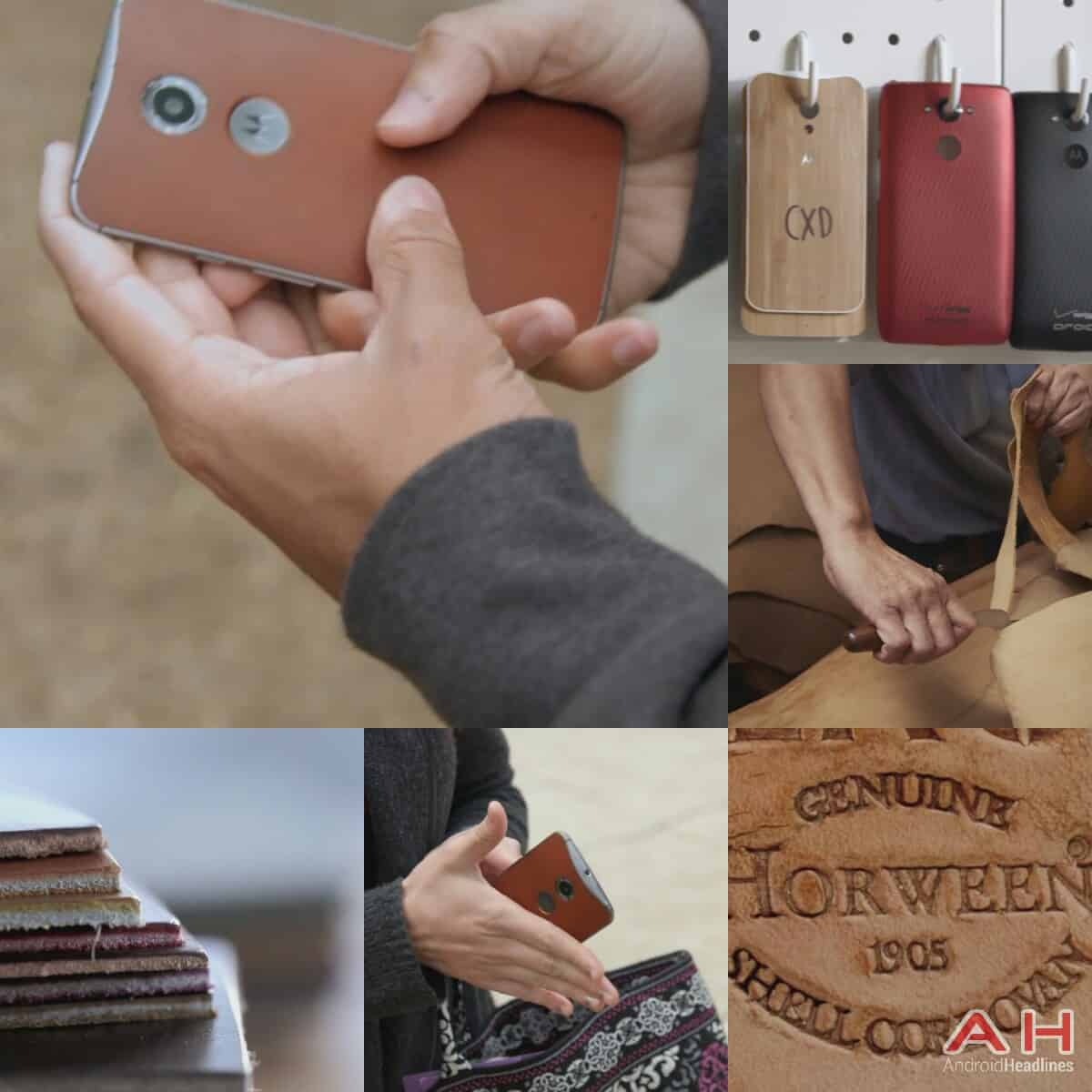 Motorola wood and leather YouTube promo video