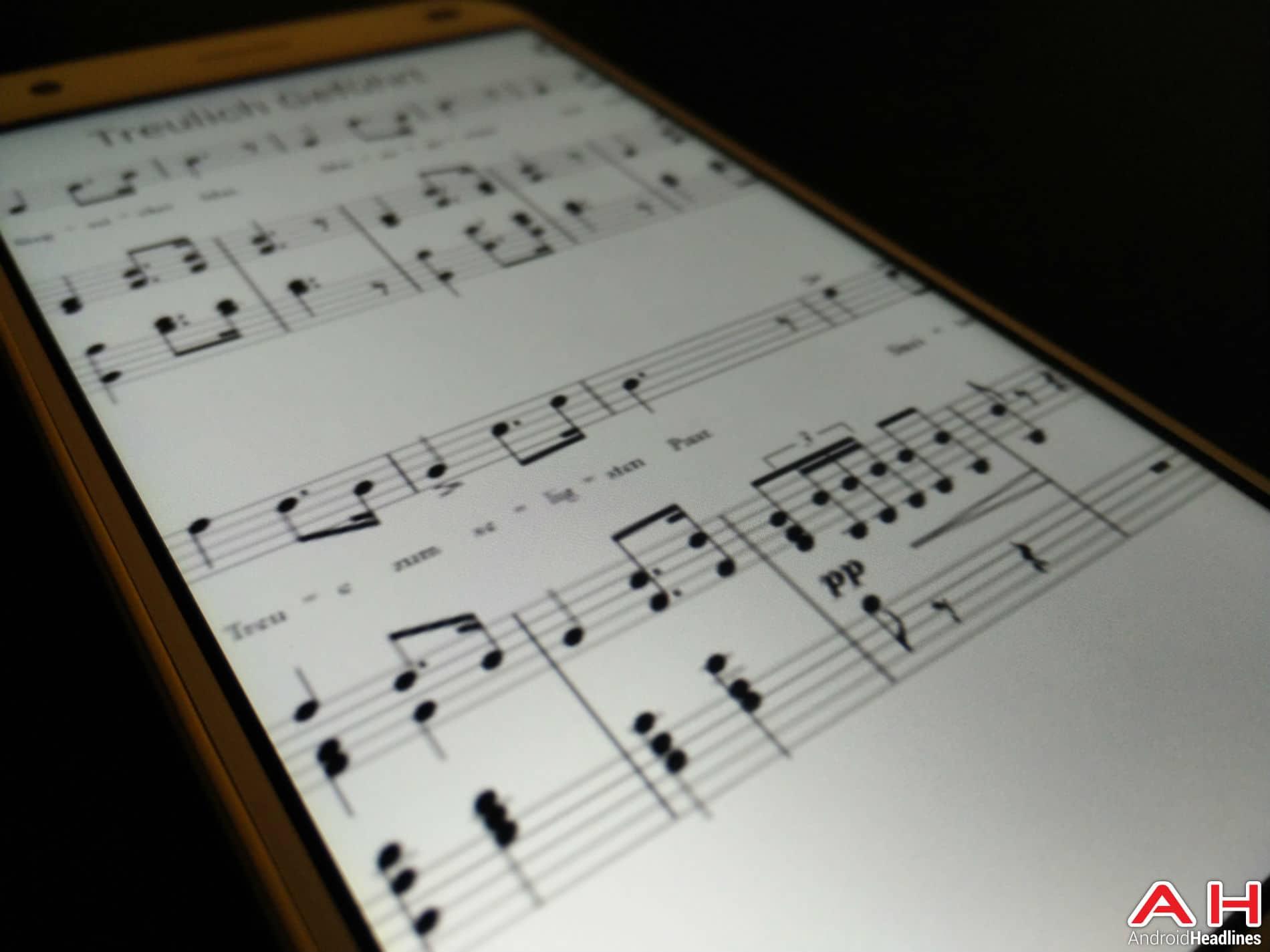 Music Score AH