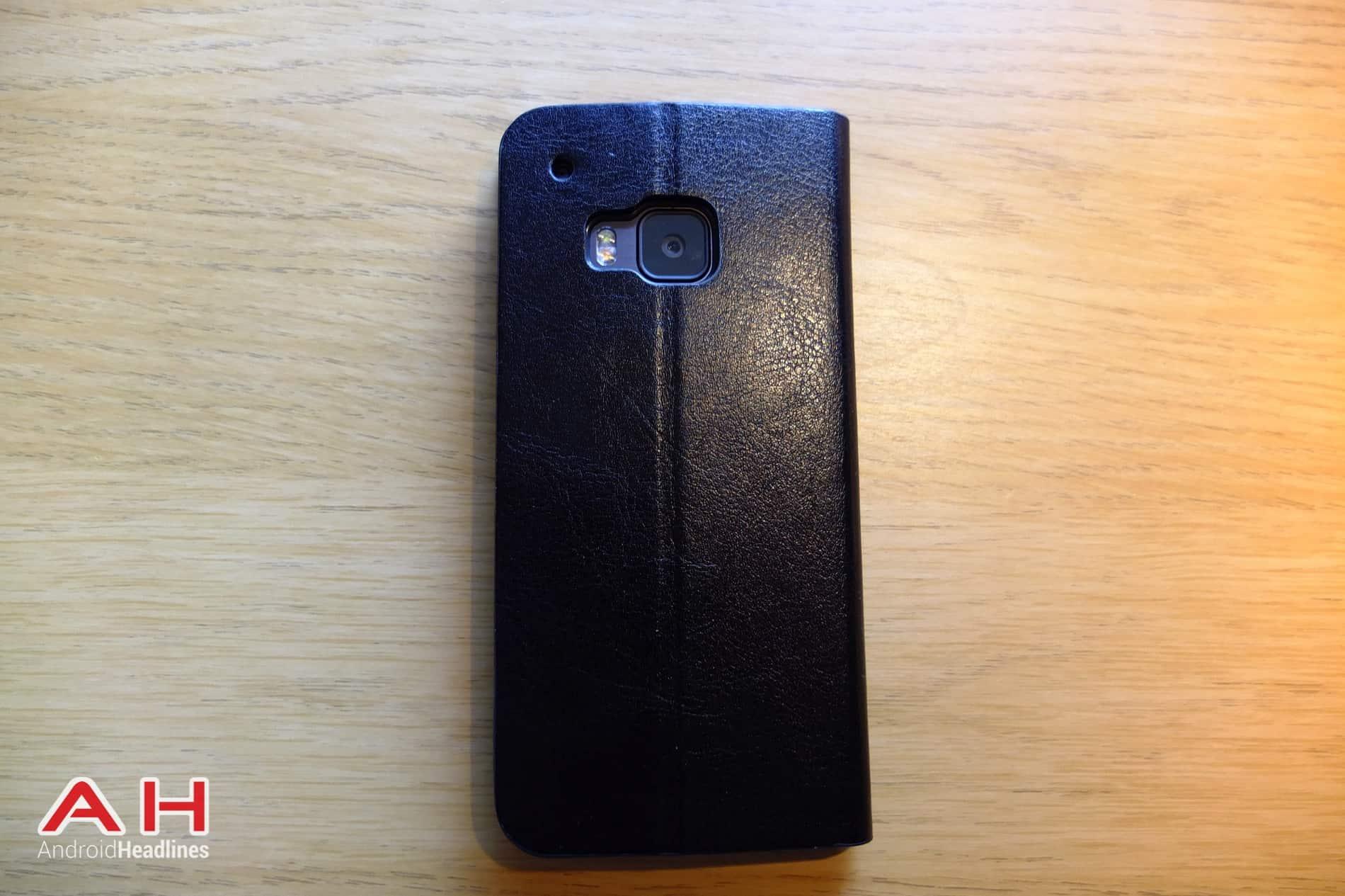 Olixar Leather Flip M9 AH 11