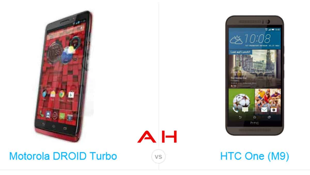 One M9 vs Droid Turbo cam AH