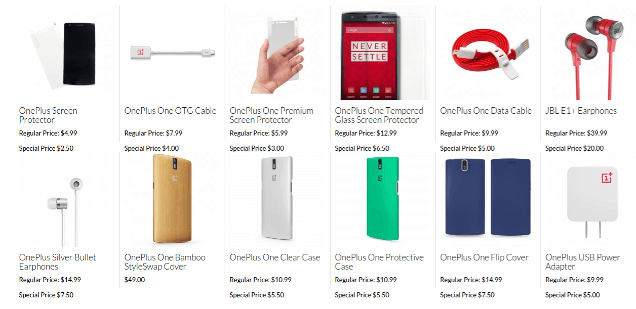 OnePlus birthday accessories discount