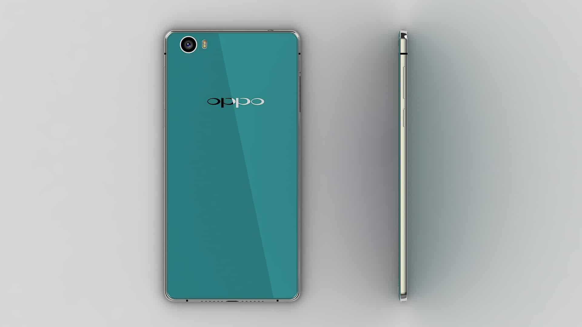 Oppo R7 pre launch render 1