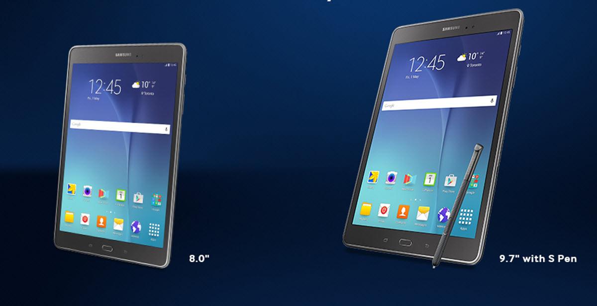 Samsung Galaxy Tab A 8 & 9.7 Tablets