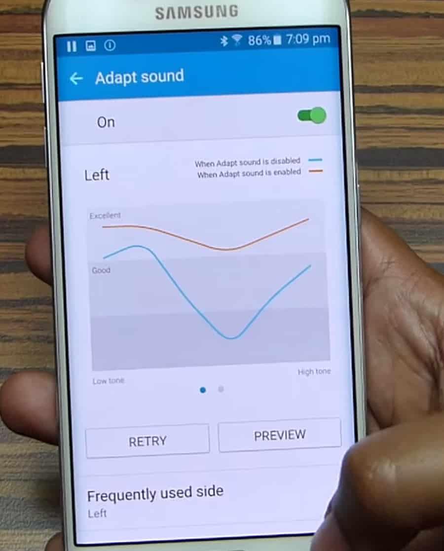 Samsung S6 Adapt Sound