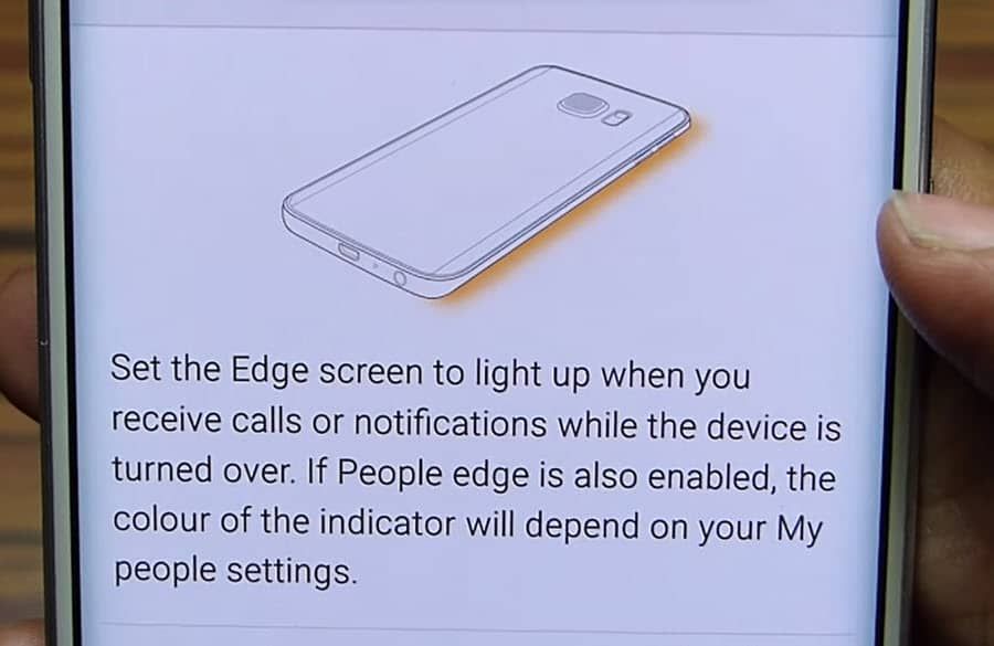Samsung S6 Edge Light