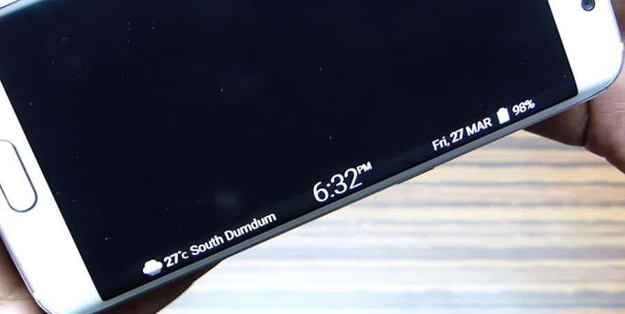 Samsung S6 Edge Notifications