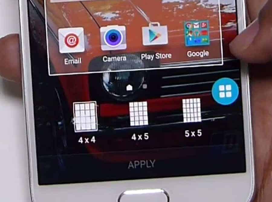 Samsung S6 Grid Style