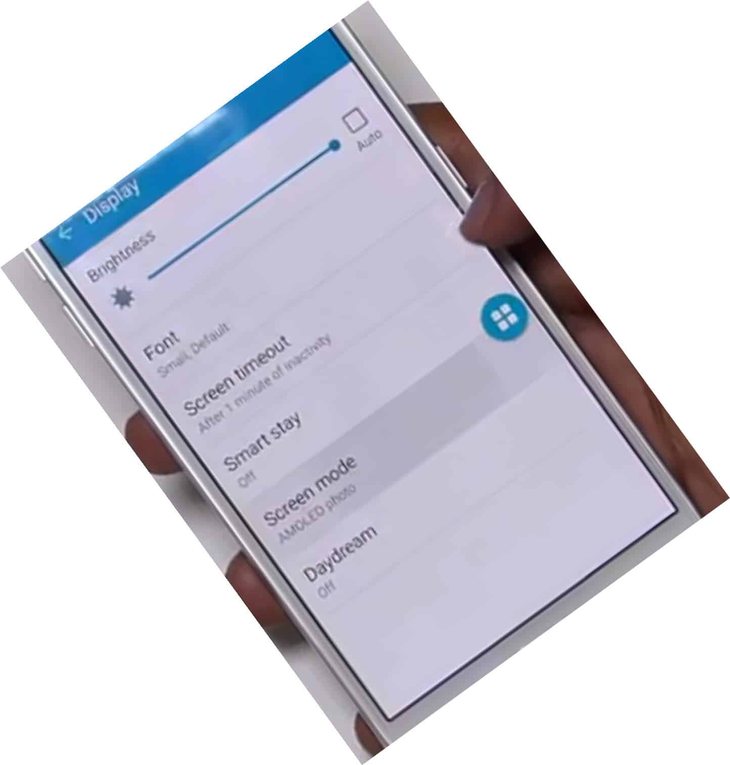 Samsung S6 Smart Scrren