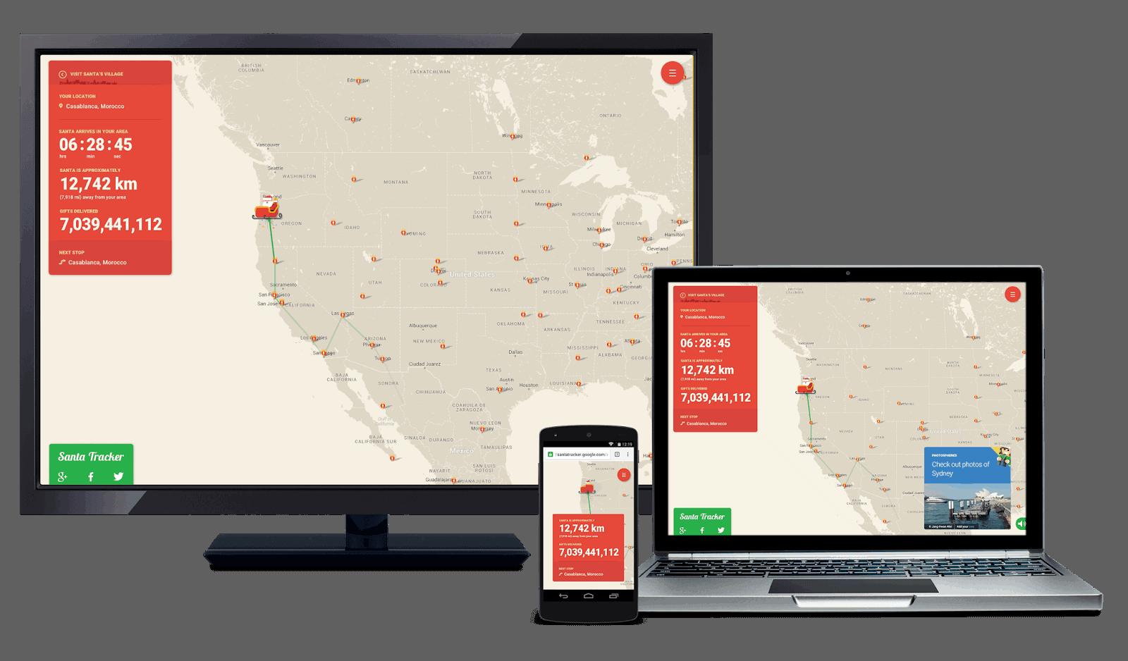 Santa Tracker open source
