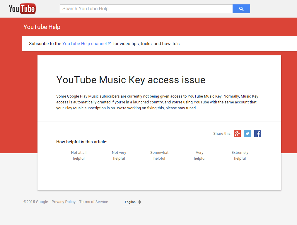 YouTube Music Key Support