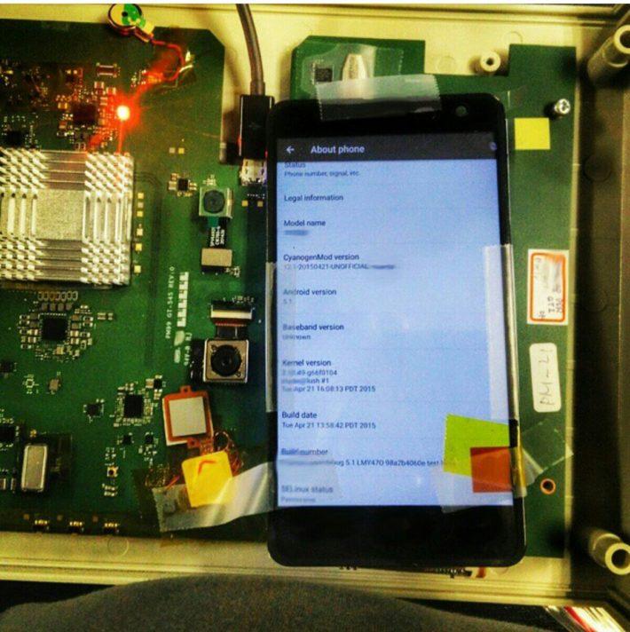Cyanogen Posts Development Board Image On Instragram