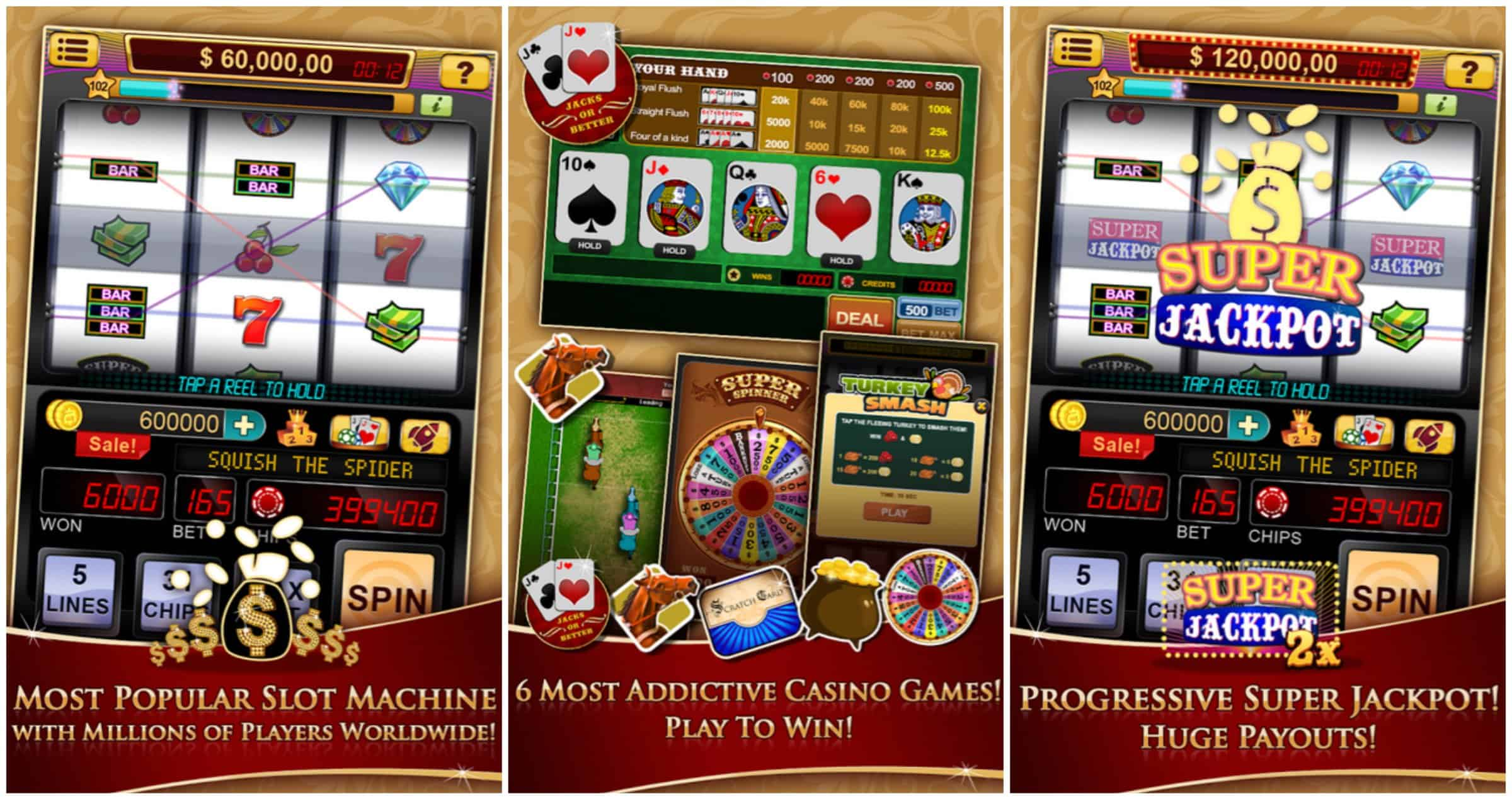 best slot machine app for android 2015