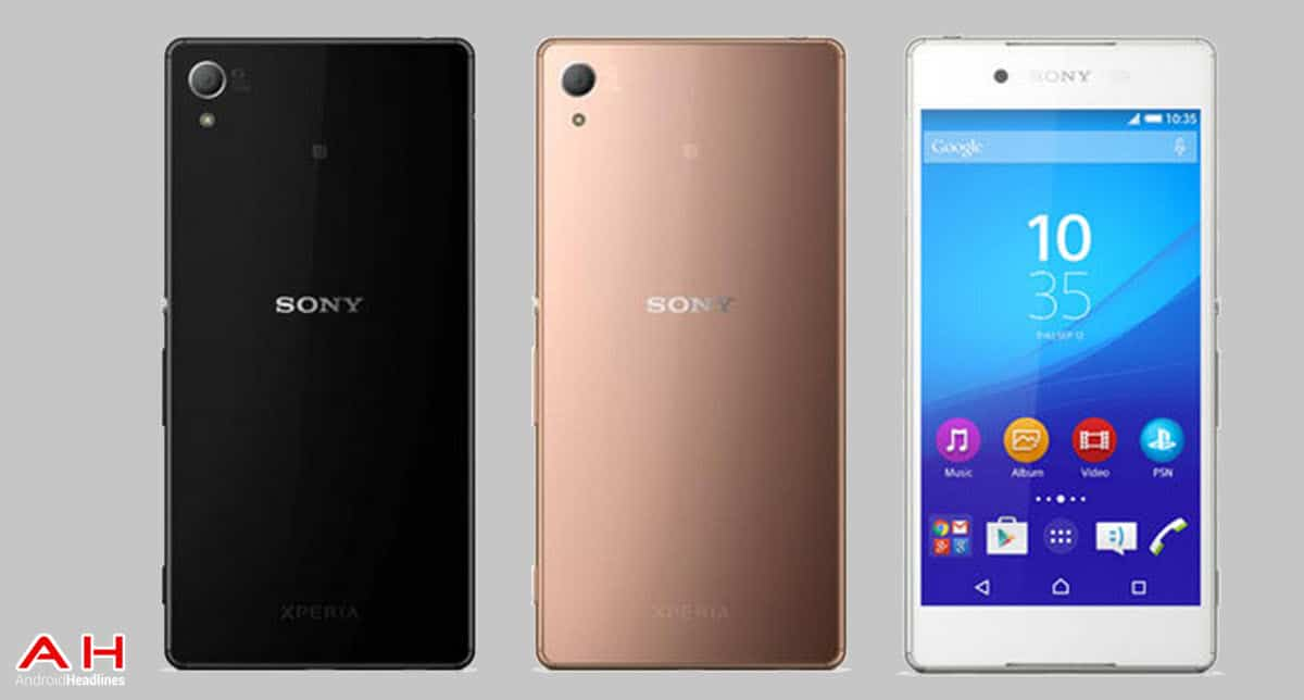 Sony Xperia Z4 three phones cam 2 AH