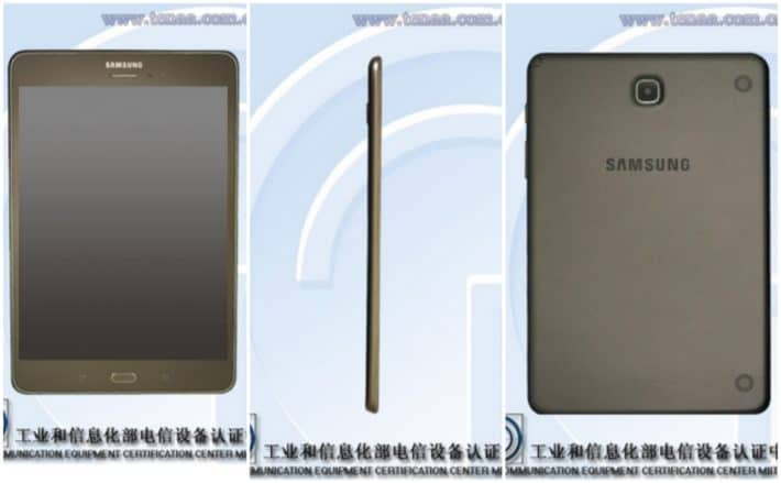 Samsung Galaxy Tab 5 8.0 Specs Revealed While Spotted Passing Through TENAA