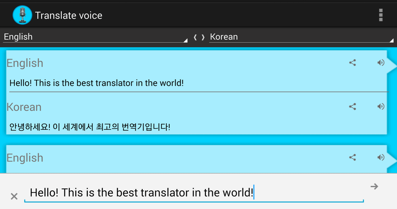 Translate voice \u2013 Translator
