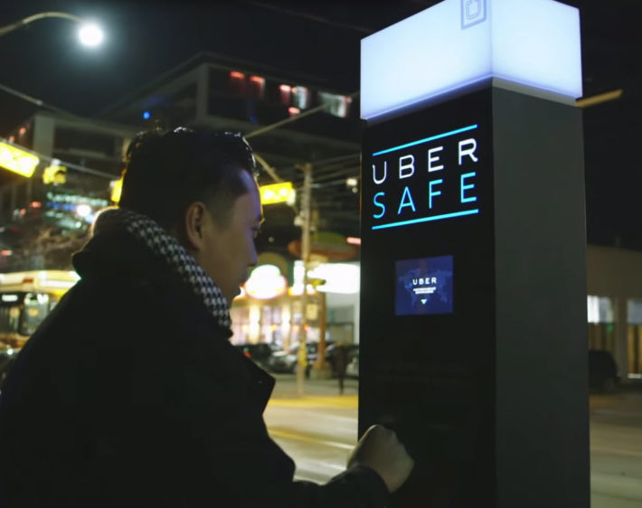 Uber Safe – A Free Ride for Intoxicated Torontonians