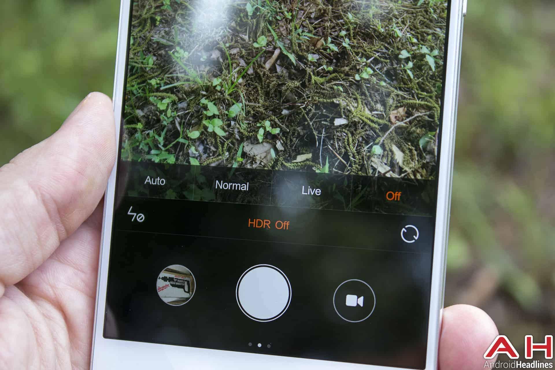 Xiaomi Mi Note Bamboo cam 4