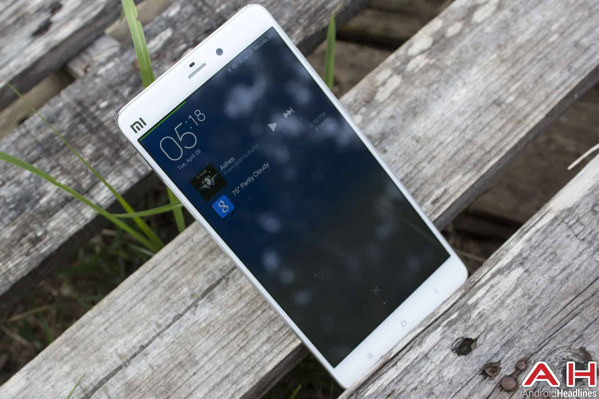 Xiaomi Mi Note Bamboo notif 1