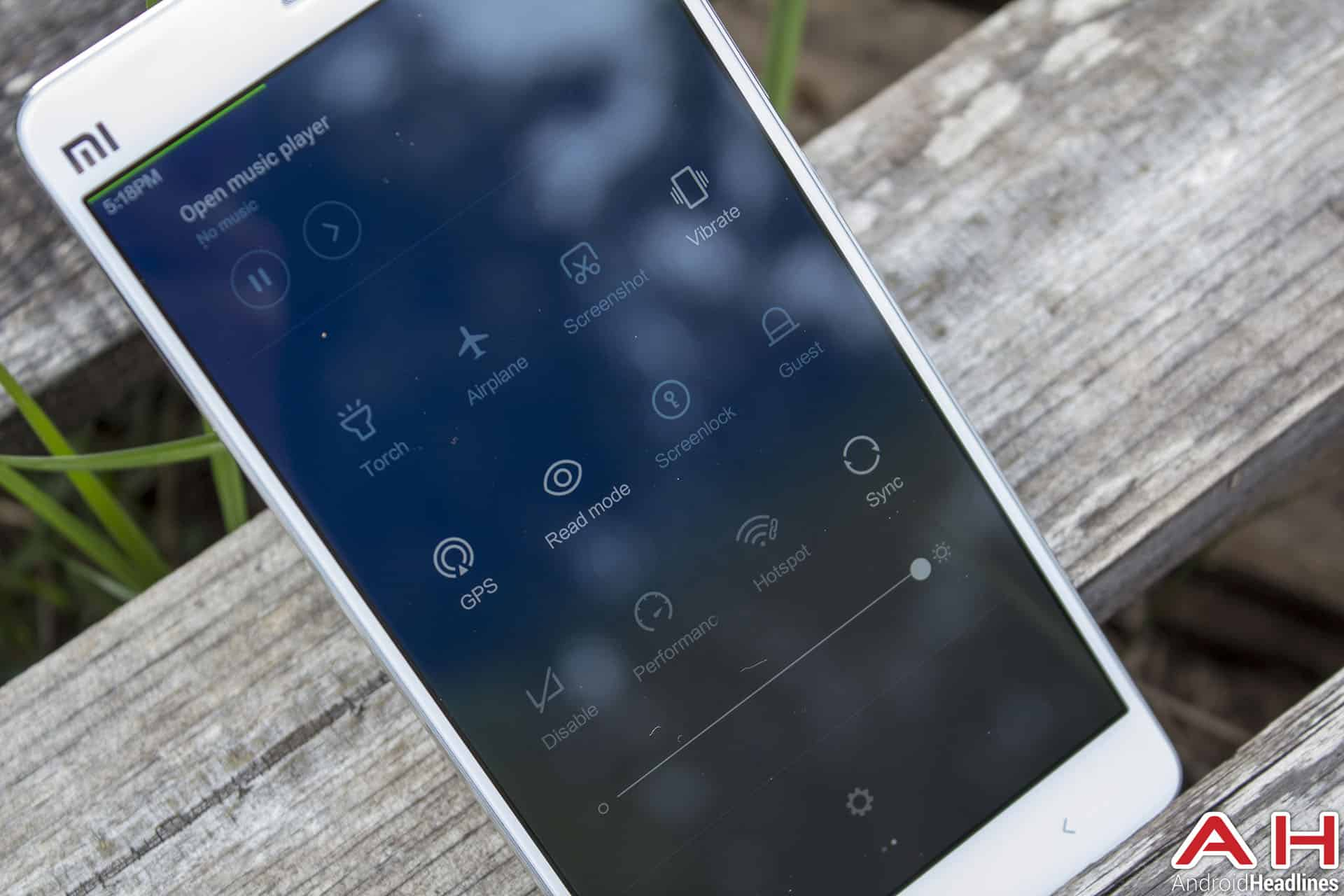 Xiaomi Mi Note Bamboo notif 3