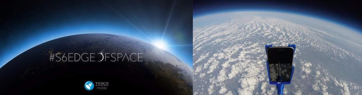 Tesco S6 Edge Of Space