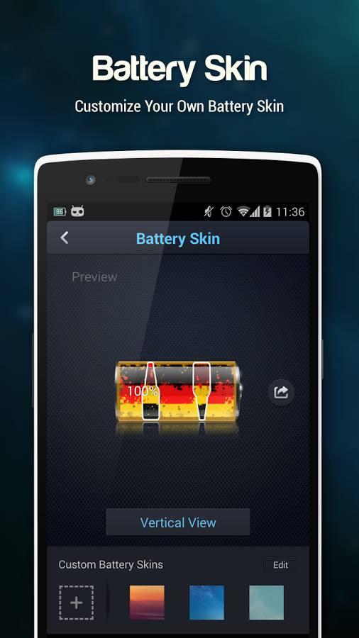 du battery skin