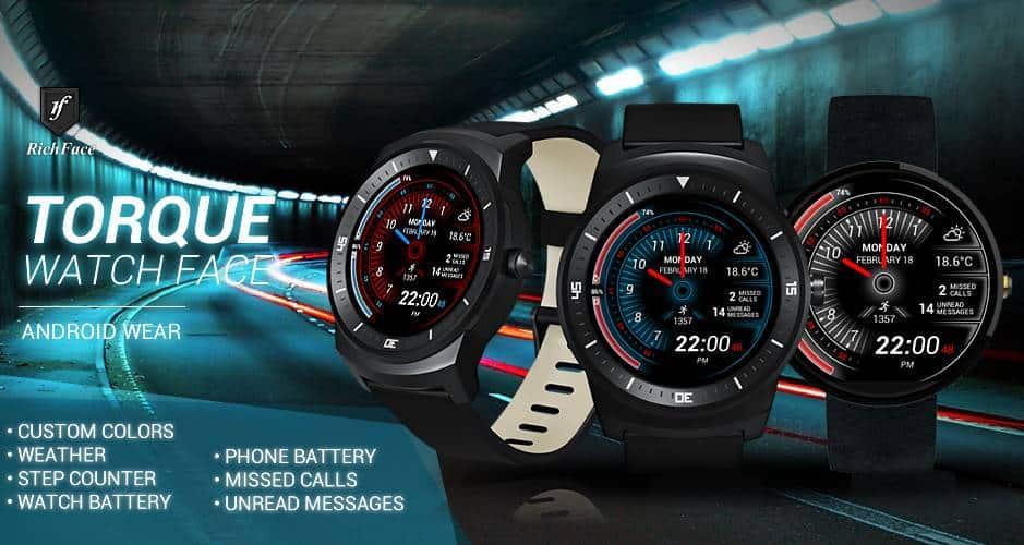 torque watch face