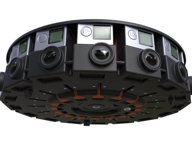 Google Jump Array GoPro