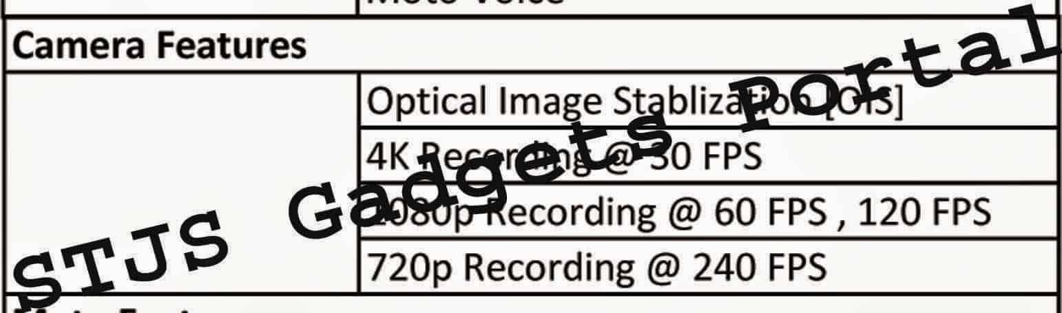 3rd gen leak camera Moto X