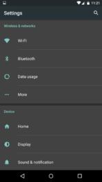 AH Android M Dark Settings