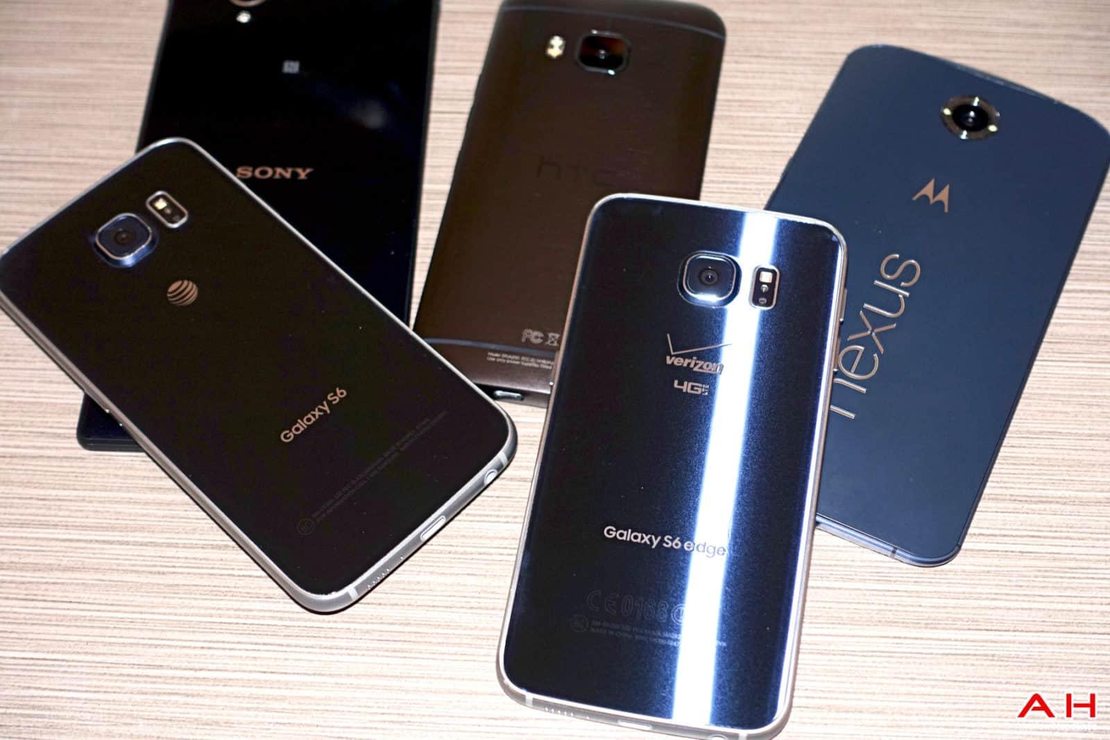 AH Android Samrtphones Nexus Samsung Galaxy S6 HTC One M9 Sony OEM logos-12