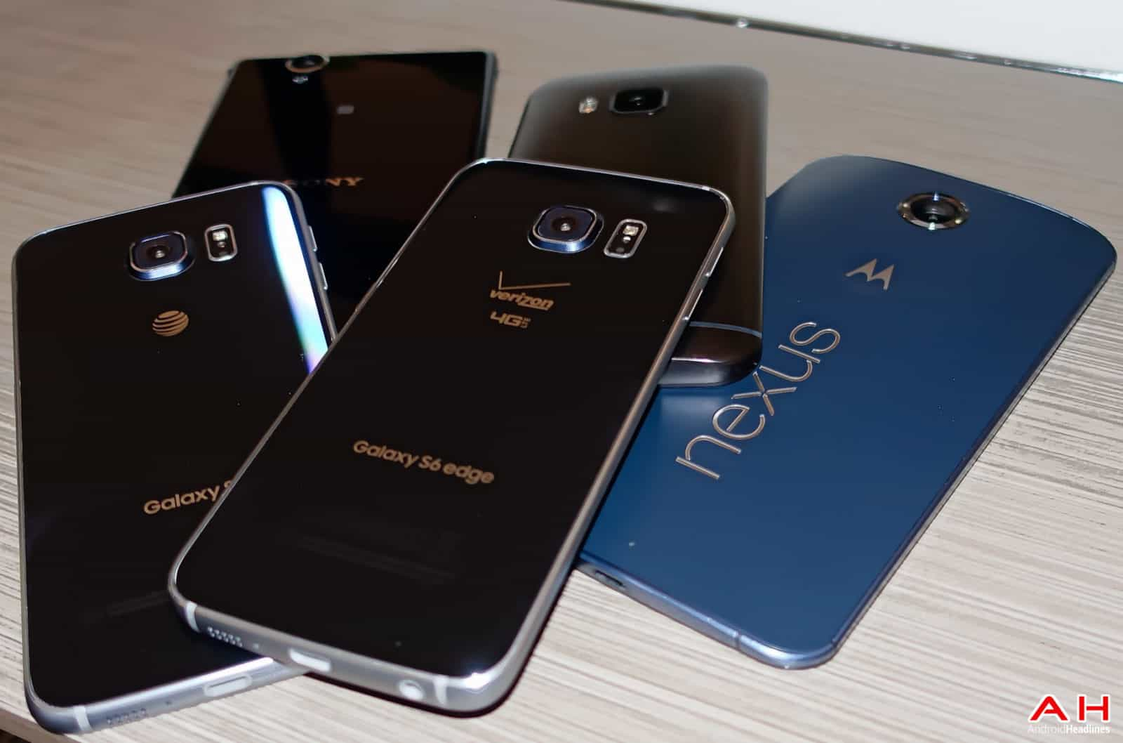 AH Android Samrtphones Nexus Samsung Galaxy S6 HTC One M9 Sony OEM logos-18