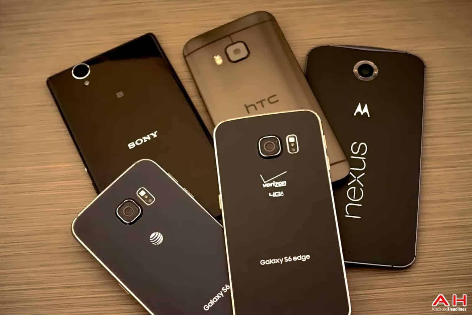 AH Android Samrtphones Nexus Samsung Galaxy S6 HTC One M9 Sony OEM logos-19