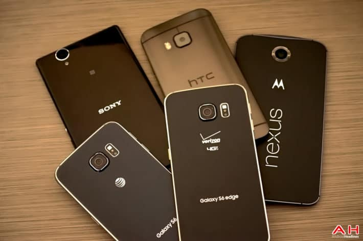 AH Android Samrtphones Nexus Samsung Galaxy S6 HTC One M9 Sony OEM logos 19