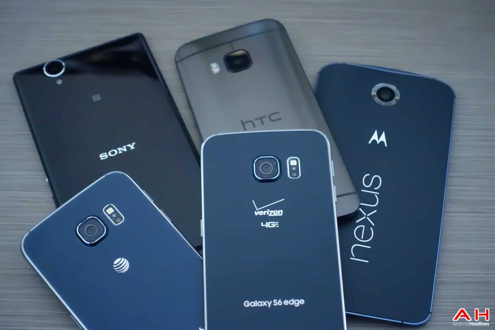 AH Android Samrtphones Nexus Samsung Galaxy S6 HTC One M9 Sony OEM logos-20