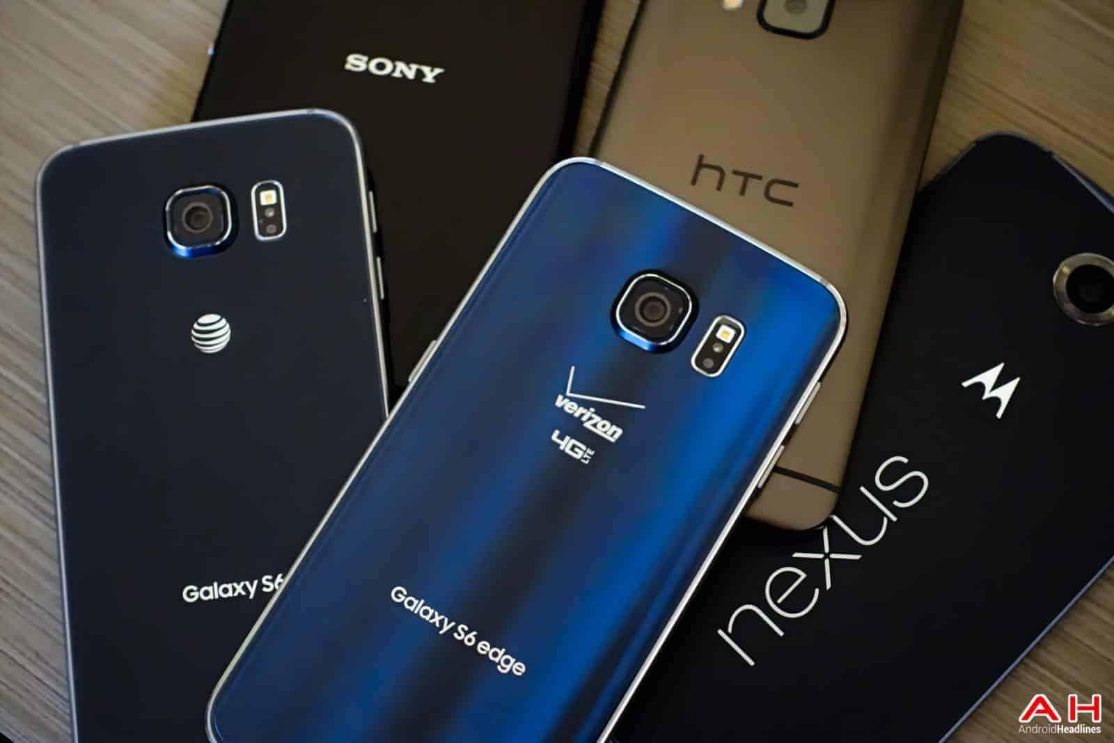 AH Android Samrtphones Nexus Samsung Galaxy S6 HTC One M9 Sony OEM logos-22