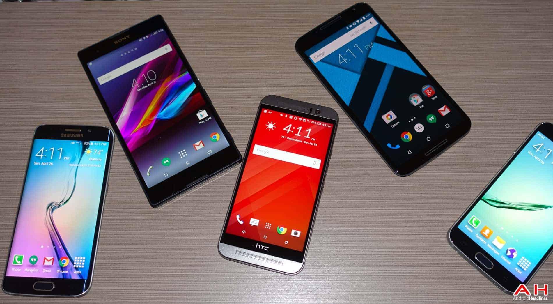 AH Android Samrtphones Nexus Samsung Galaxy S6 HTC One M9 Sony OEM logos-6