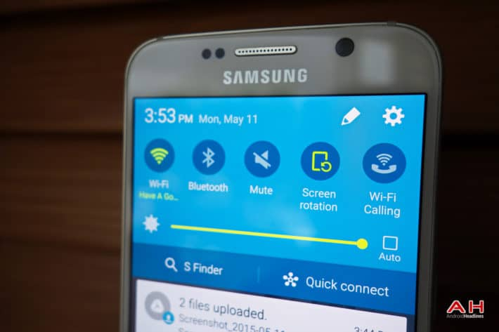 Android How-To: Modify Quick Settings On The Galaxy S6/S6 Edge