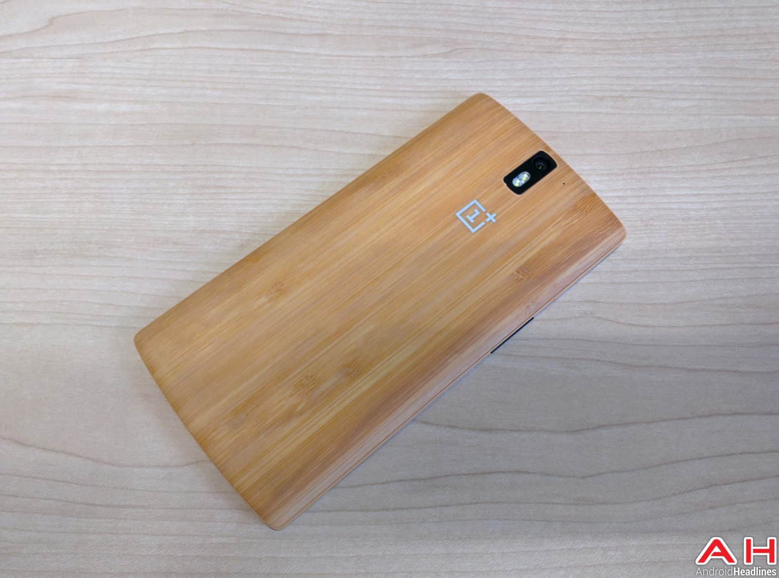 AH OnePlus One StyleSwap cover Bamboo_1