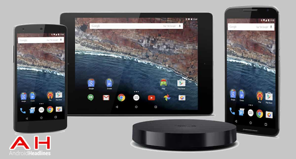 Android M Developer Preview cam AH