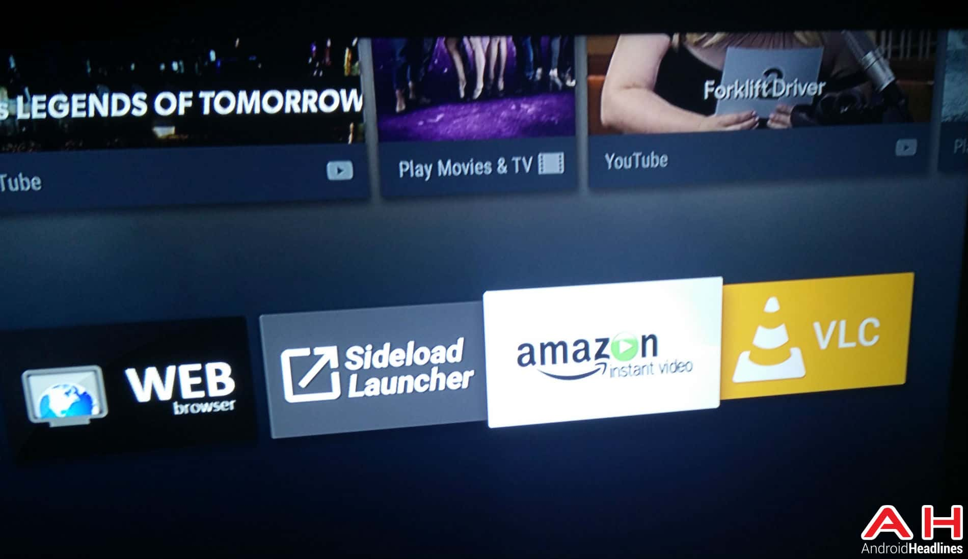 Android TV Instant Video AH