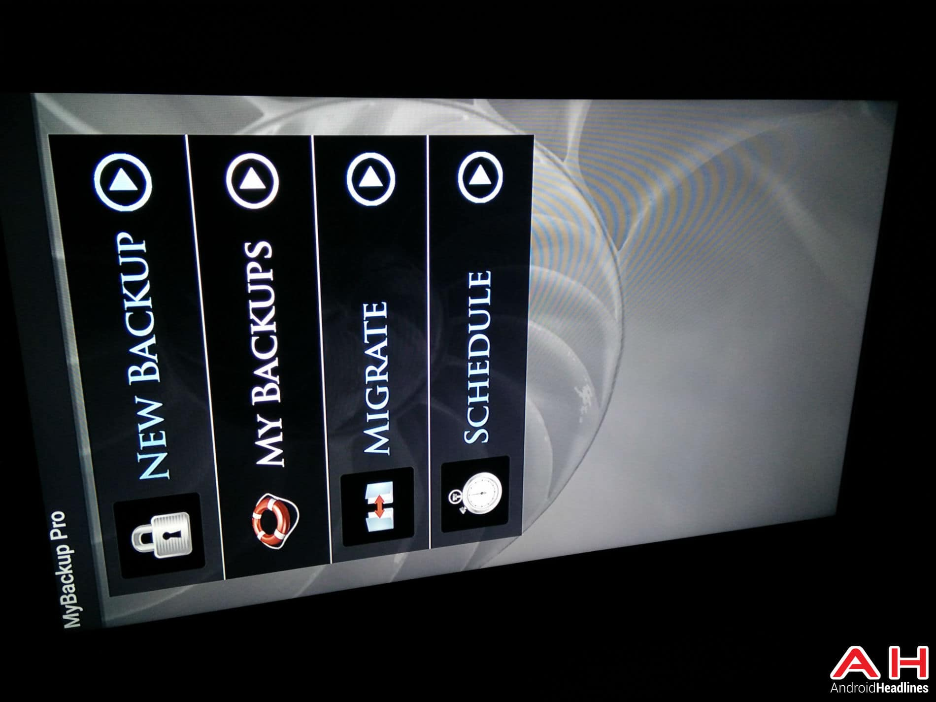Android TV My Backup 13