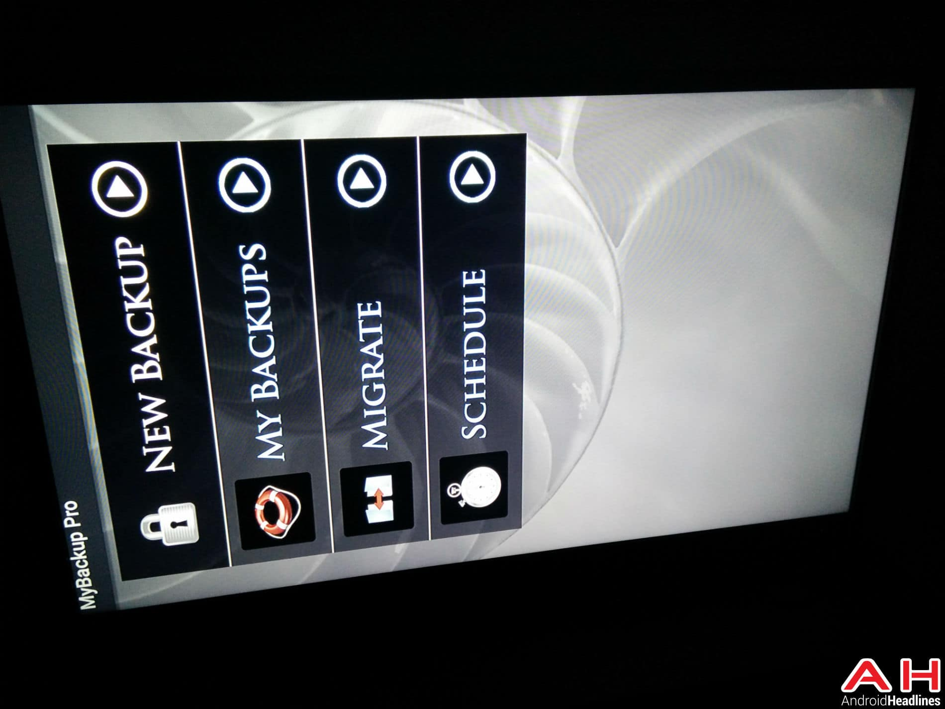 Android TV My Backup 22
