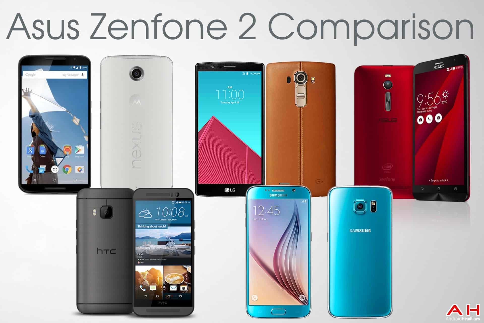 Comparison: Asus ZenFone 2 vs Nexus 6 vs HTC One M9 vs LG ...