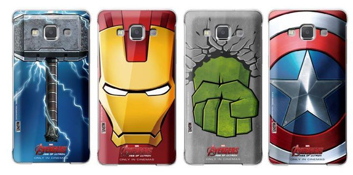 Avengers Galaxy A5 back cover_1