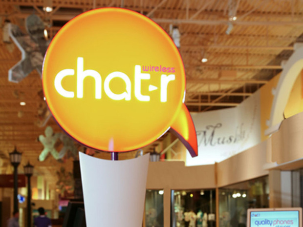 Chatr wireless third-party