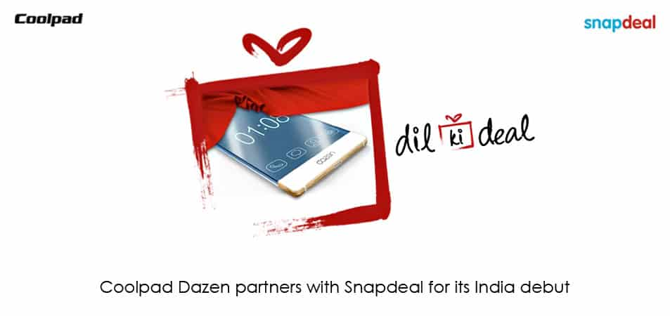 Coolpad Dazen and Snapdeal form exclusive partnership