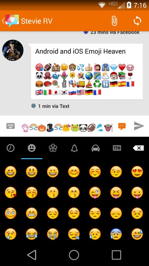 Disa Features - Emoji Keyboard