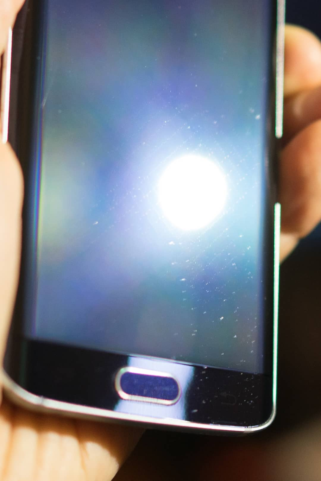 Galaxy S6 Clear View case scratches 10