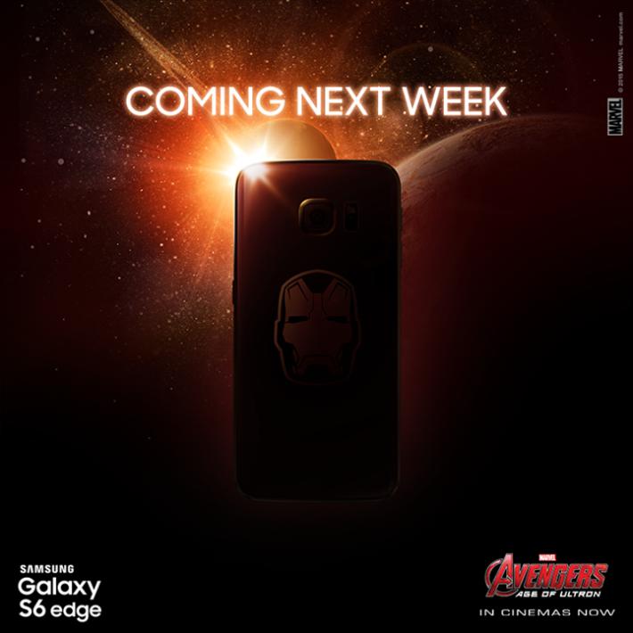Iron Man Edition Galaxy S6 Edge Launching Next Week