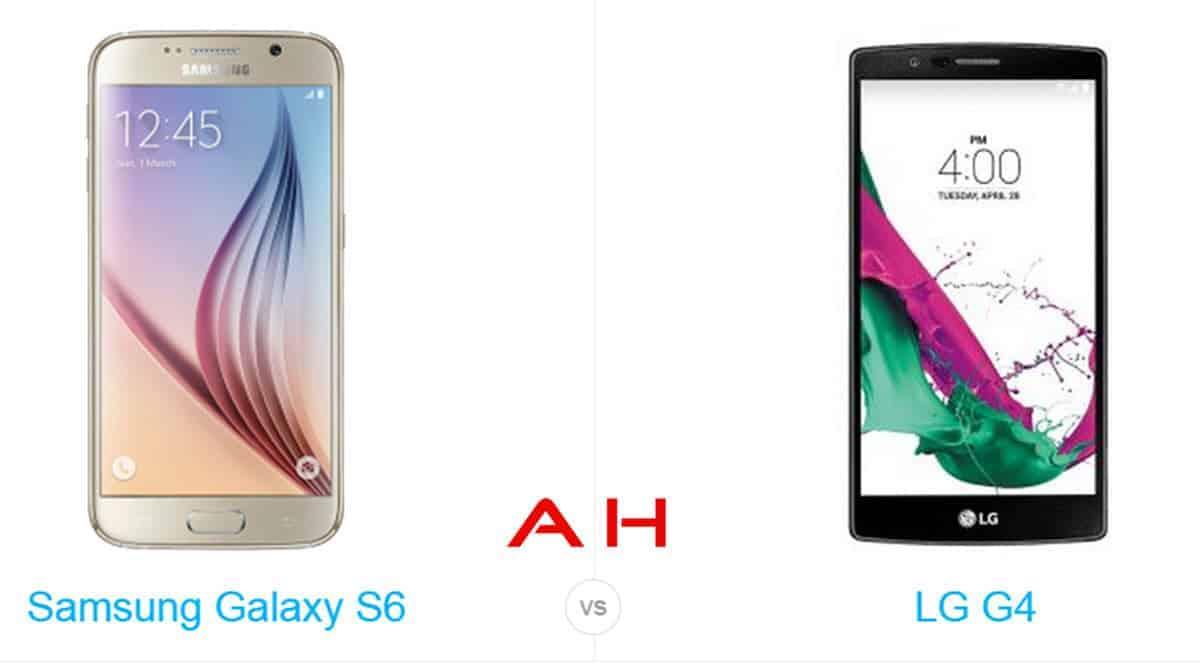 Galaxy S6 vs LG G4 cam  AH